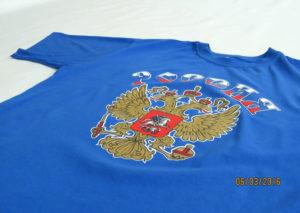 печать на текстиле на футболках