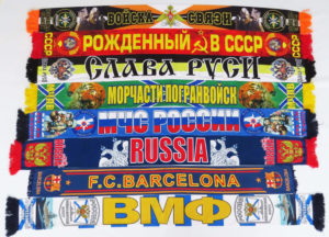 фанатские шарфы на заказ