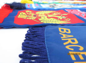 шарфы с логотипом на заказ
