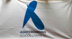флаг с логотипом на заказ