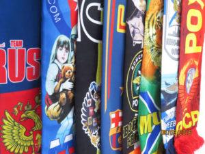 футбольные шарфы на заказ