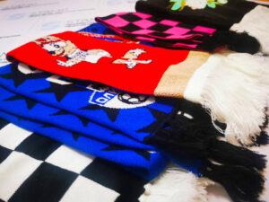 купить вязанный шарф